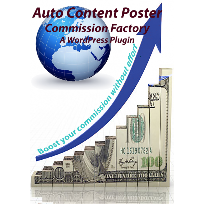 Auto Content Poster for Commission Factory Plugin - Single site Licence